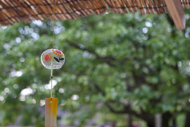 掛上風鈴迎接夏季到來,清脆的聲音彷彿能驅散暑氣。圖片來源:mrhayata。CC BY-SA 2.0