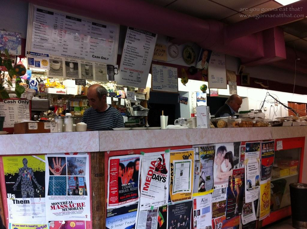 Joe S Cafe Waltham Cross Menu