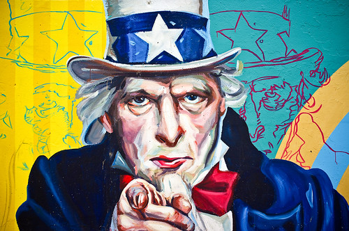 Uncle Sam by Terry Johnson, on Flickr's The Commons