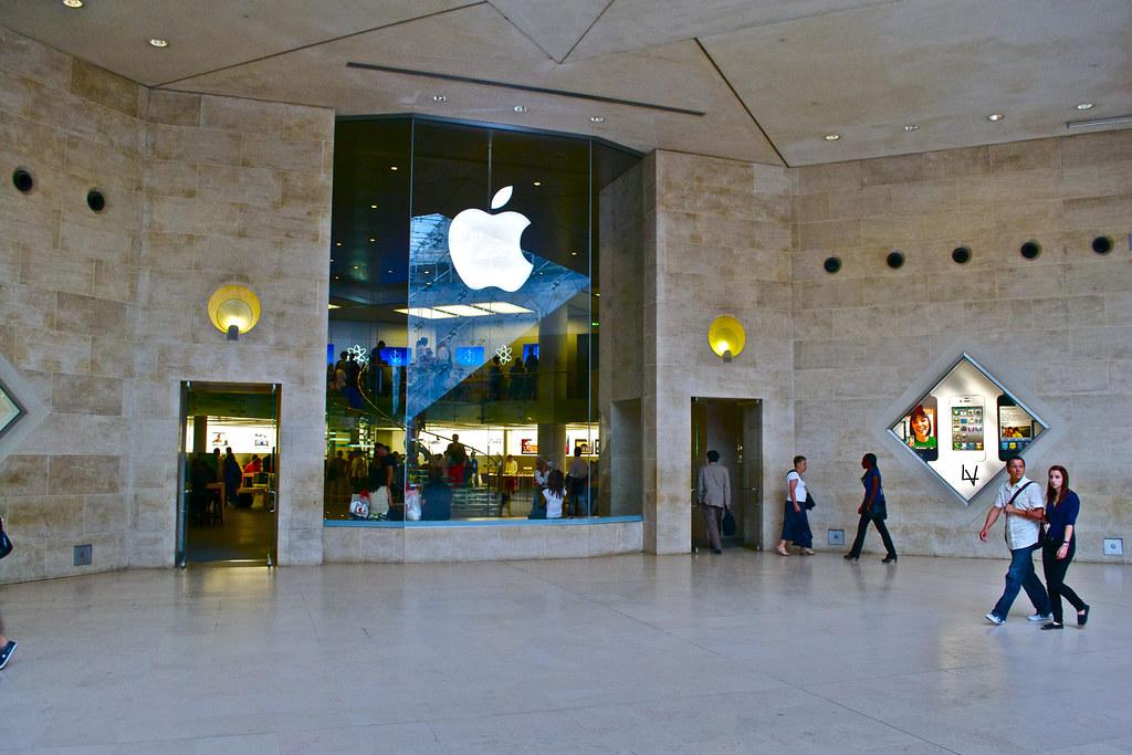 Apple Store Carrousel Du Louvre Paris Lorenzo Viola