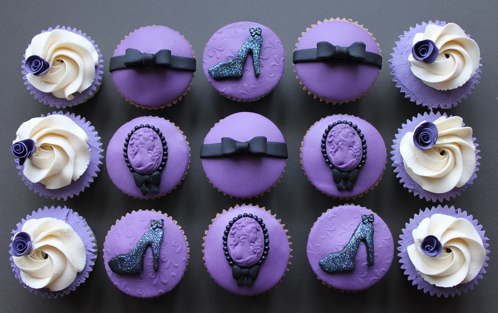 Black And Purple Kitchen Ideas