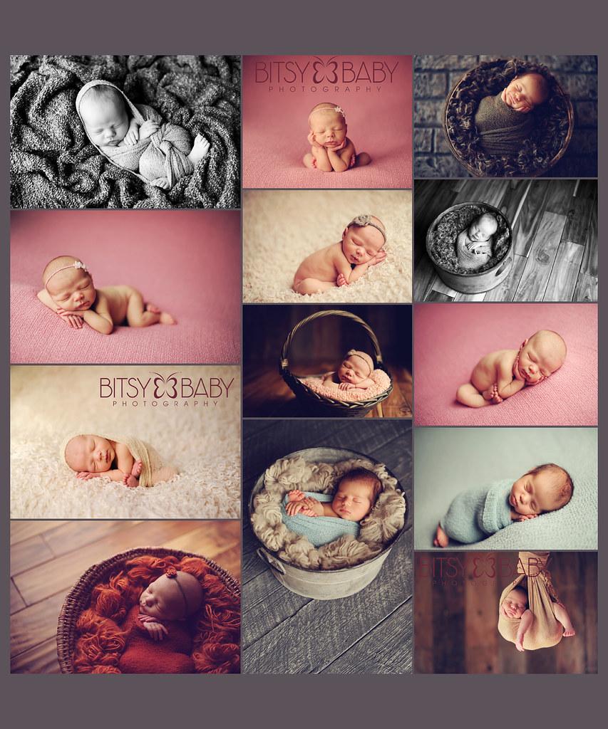 Studio Lighting Newborn Photography: Newborn Baby Photography Workshop, Newborn Dreamland Colla