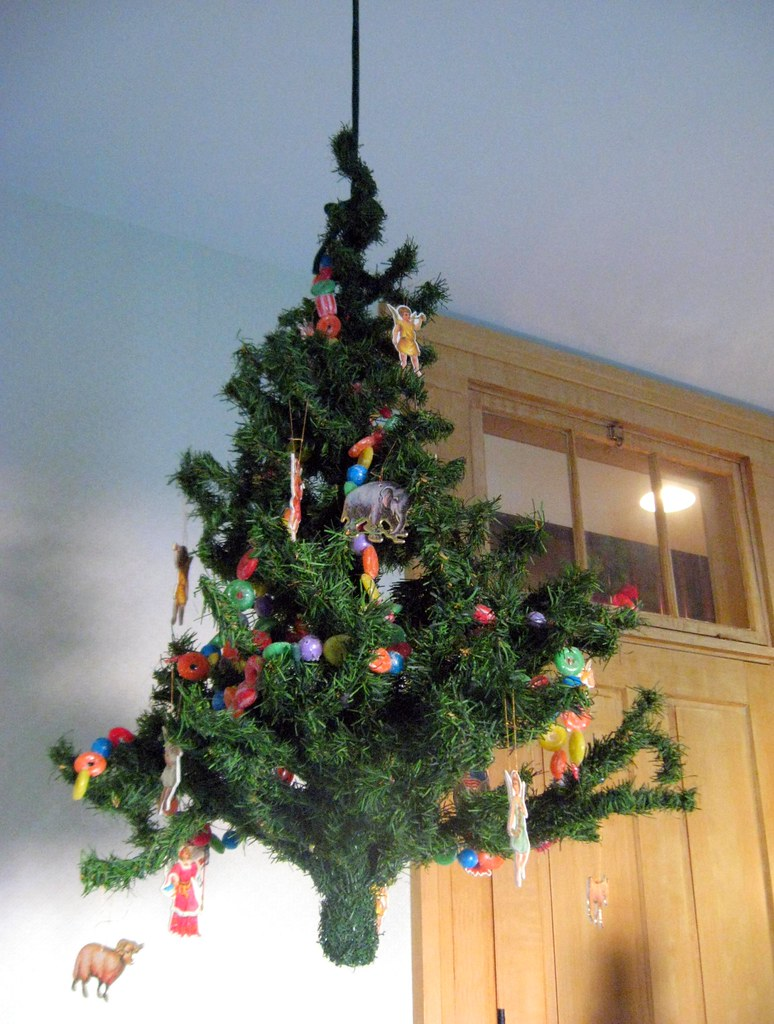 How to keep cats out of the christmas tree this Christmas tree cat tower