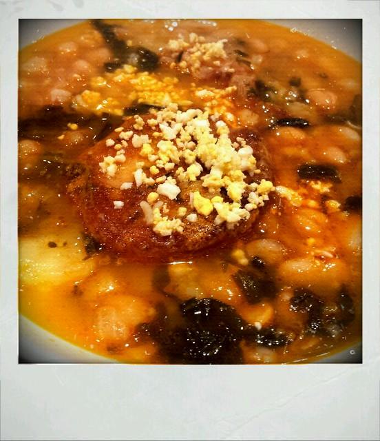 Potaje de garbanzos con bacalao cafeteria ric flickr - Potaje de garbanzos con bacalao ...
