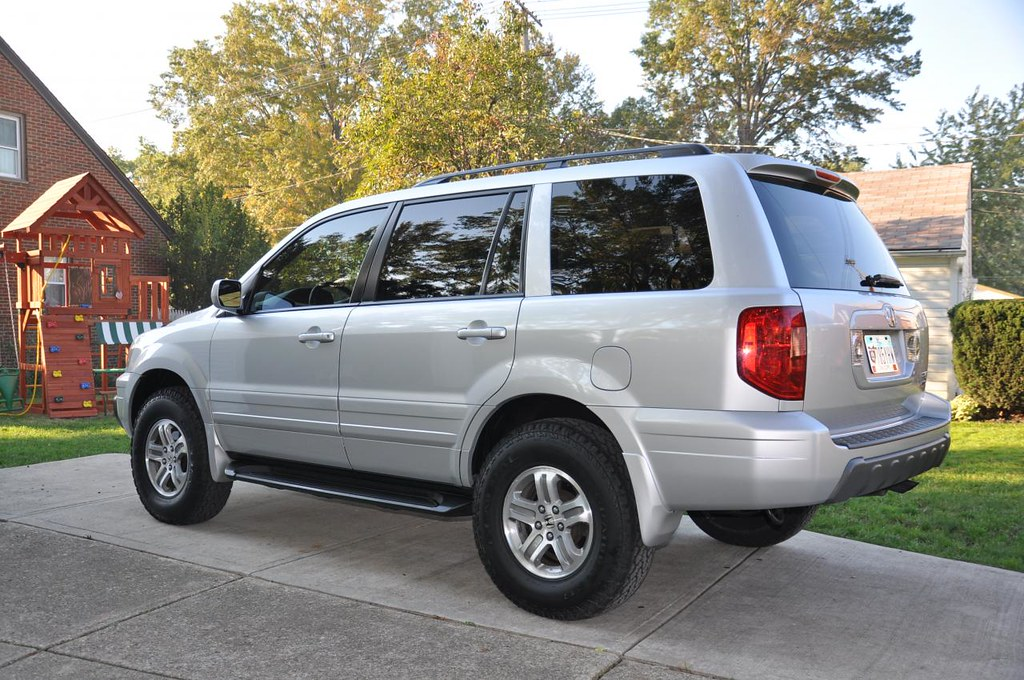 2005 honda pilot with ready lift 2in lift and 235 85 16 39 s flickr. Black Bedroom Furniture Sets. Home Design Ideas