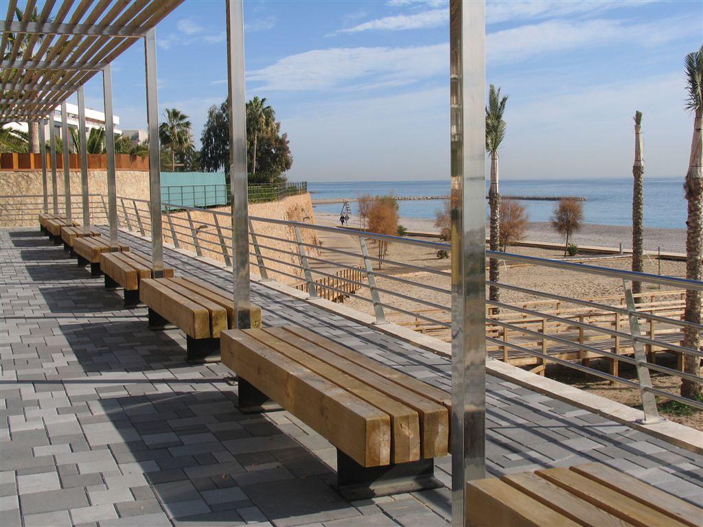 Mobiliario urbano p rgola de madera panam mobipark flickr for Mobiliario 2 mao
