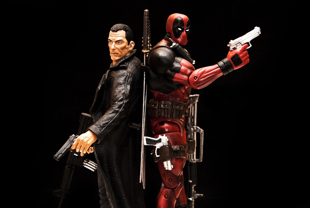 Punisher vs Deadpool | Marvel Select Deadpool and Punisher ...