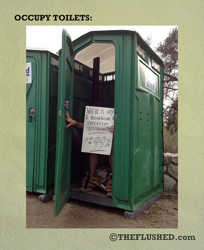 Occupy Toilets 3 | by theflusheddotcom