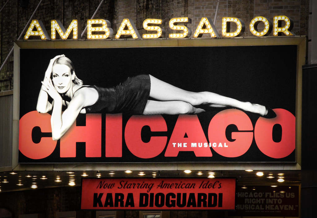 Chicago Musical Ambassador Theater Broadway Nyc Manhatt