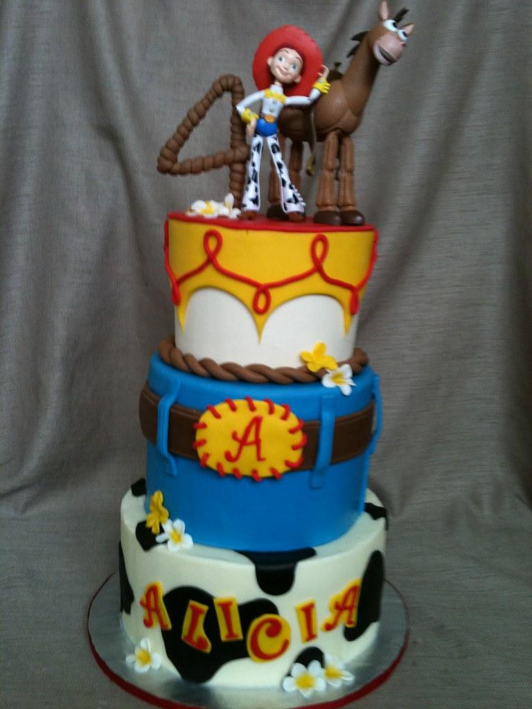Jessie And Bullseye Birthday Cake Toy Story 3 Jessie And