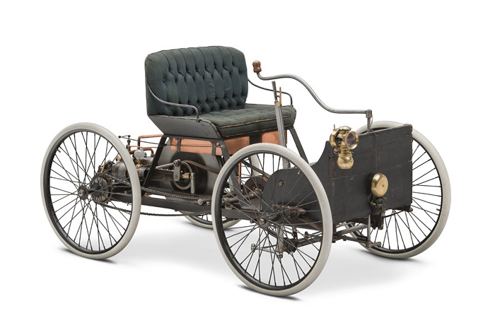 1896 ford quadricycle runabout first car built by henry f flickr. Black Bedroom Furniture Sets. Home Design Ideas