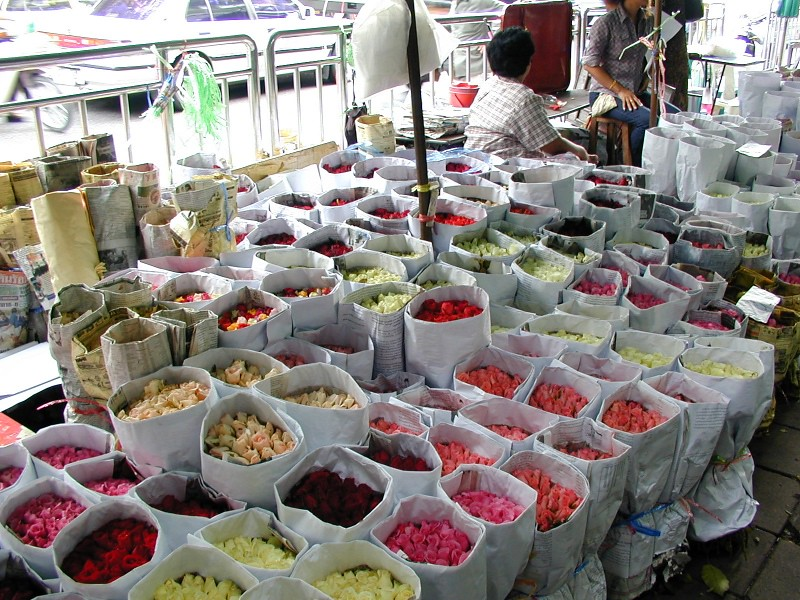 バンコクのマーケット観光