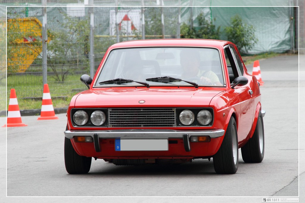 Shortened Cars >> 1972 Fiat 128 Sport Coupé (01) | Visit my Facebook page! - -… | Flickr