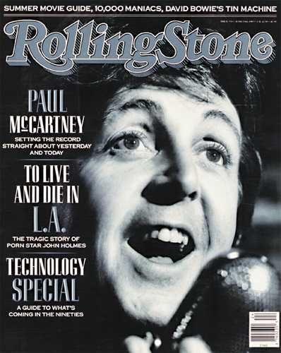 beatles paul mccartney rolling stone magazine paul