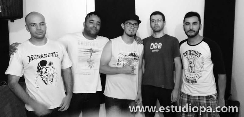 Pré-produção banda Contra K