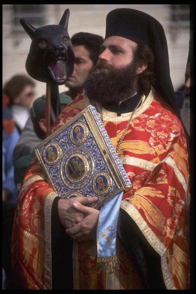 A Greek Orthodox Pries...