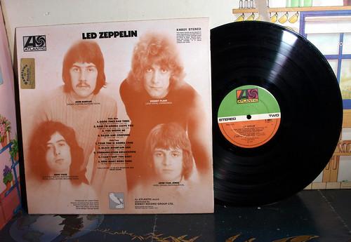 led zeppelin, first album,