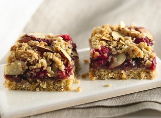 Chewy Raspberry Almond Bars Recipe | by Betty Crocker Recipes