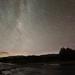 Cometa Lovejoy y trazas estelares