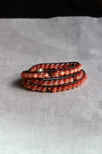 Finished bracelet | by tentenknits