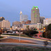 Downtown Raleigh at dusk - January 2012