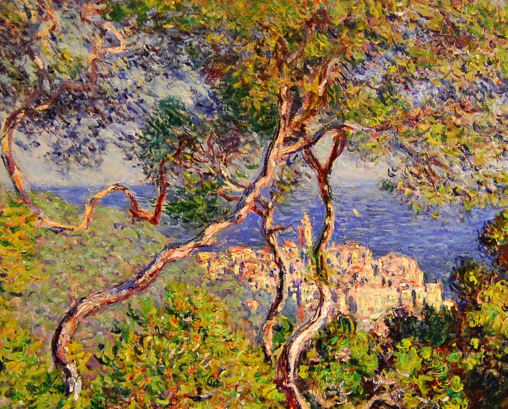 Claude Monet Bordighera 1883 From Www Artic Edu Aic