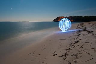 Blue Orb by the Waves | by csteinmetz1