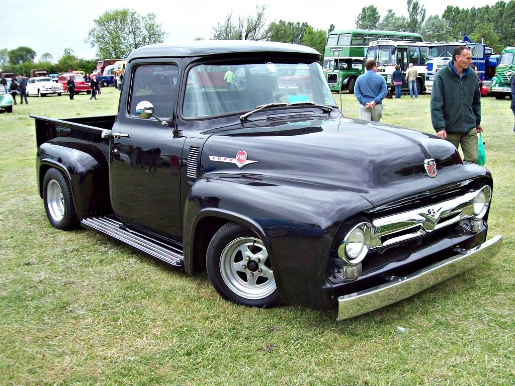 144 ford f100 pick up 2nd generation 1955 ford f100 pick flickr. Black Bedroom Furniture Sets. Home Design Ideas