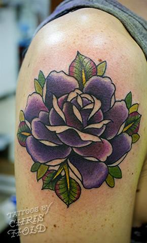 Gotta Rose Tattoo   Chris Hold   Flickr