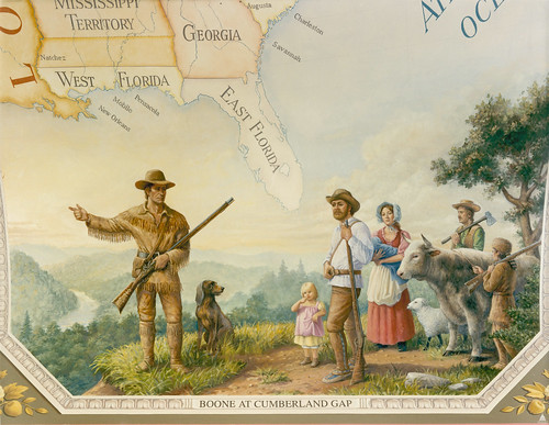 Boone at Cumberland Gap | by USCapitol