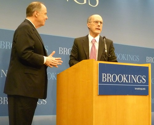 Donilon and Talbott at Brookings - November 22, 2011 | by WilliamKoenig
