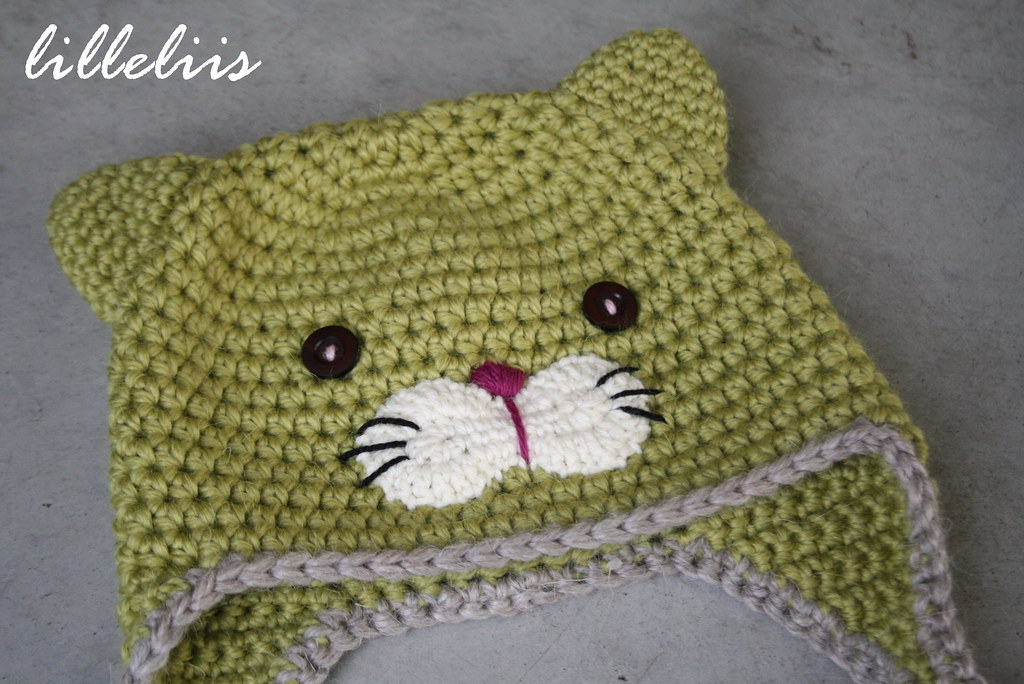 Crochet Kitty Cat Hat Pattern : Crochet kitty hat Designs by Mari-Liis Lille Flickr