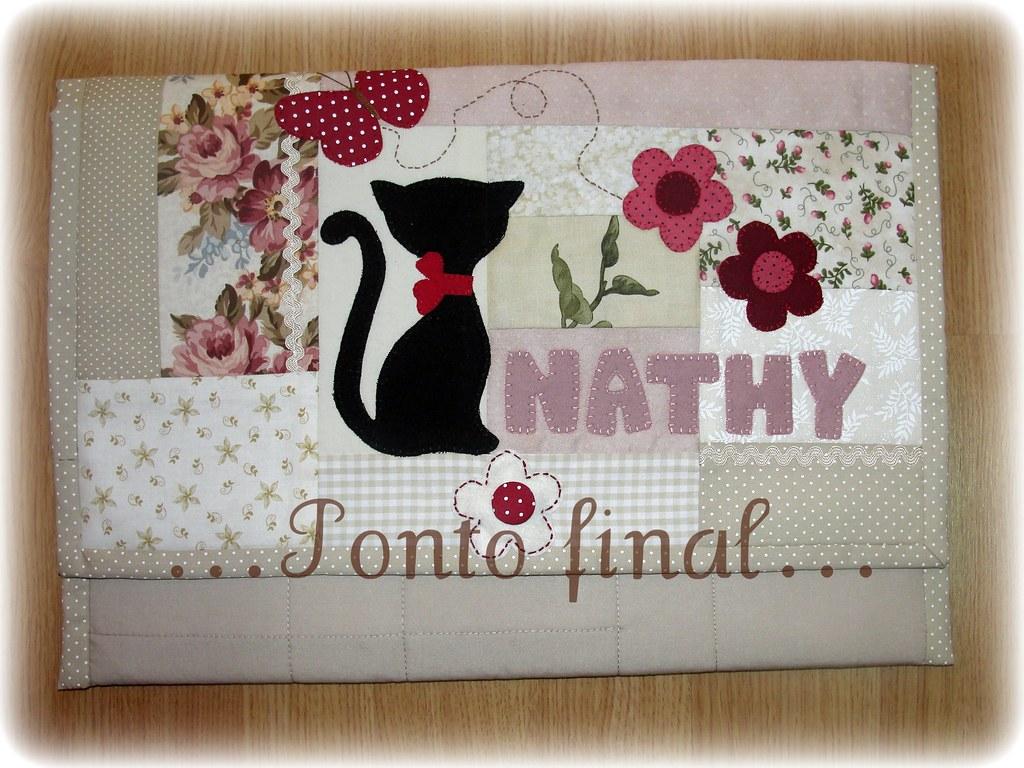 Capa para Notebook em Patchwork Arte com Tecidos
