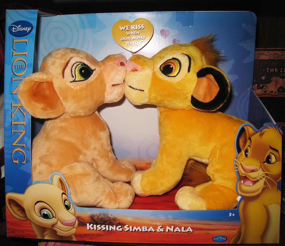 Wal Mart Exclusive Kissing Simba and Nala plush | 2011 ...