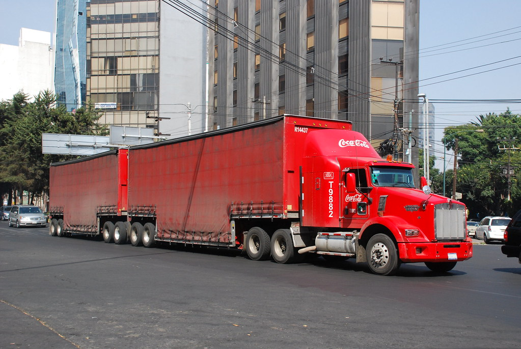 All Pro Trailers >> Coca Cola | Kenworth/Kenmex truck pulls Coca Cola products t… | Flickr