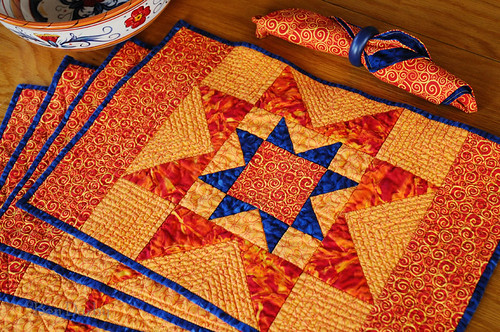 Quilt Patterns Placemats Free Cafca Info For
