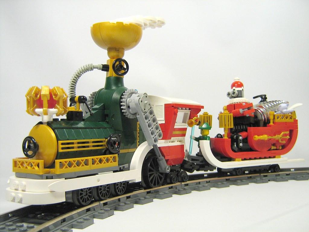 Lego Steampunk Train Steampunk Christmas Train