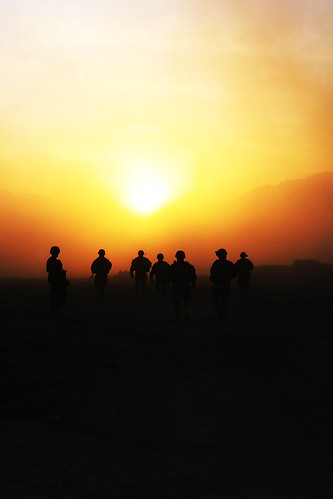 Sunset over Kandahar | by The U.S. Army