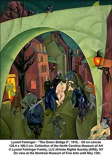 "Lyonel Feininger - ""The Green Bridge II"", 1916 