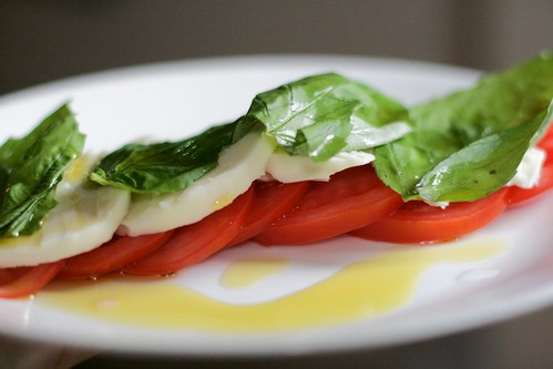 caprese salad | by amlamster