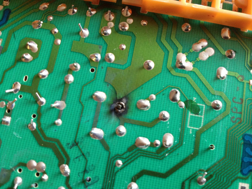 Bad Solder Joint On Bosch Dishwasher Brain Board Took A