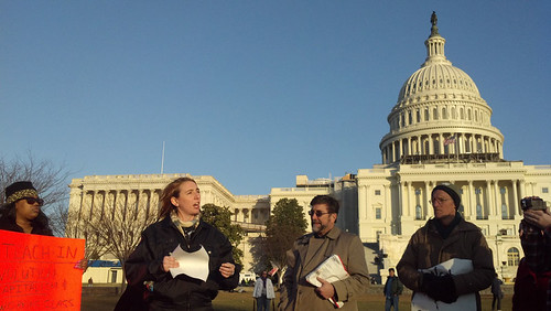 Occupy Congress, Washington, DC, January 17, 2012 | by kimsworldofart