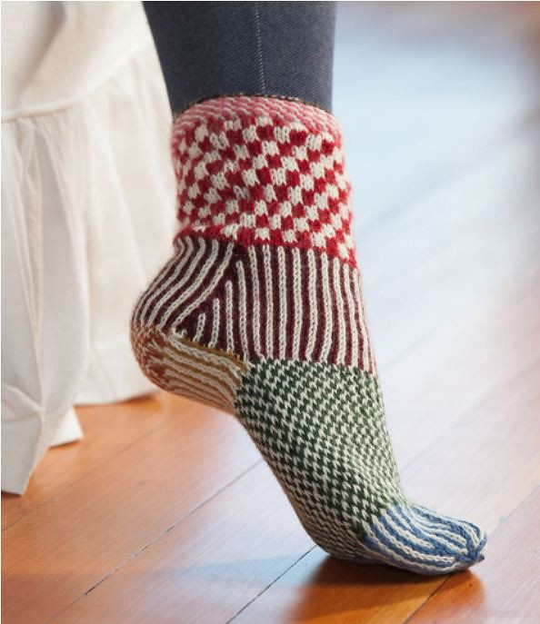 Sock Knitting Blogs : Knitting Scandinavian Slippers and Socks Knitting Scandina? Flickr
