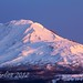 Alpenglow fades into Sunrise