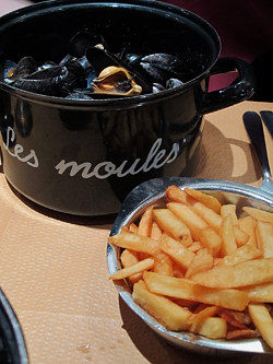 moules-frites | by David Lebovitz