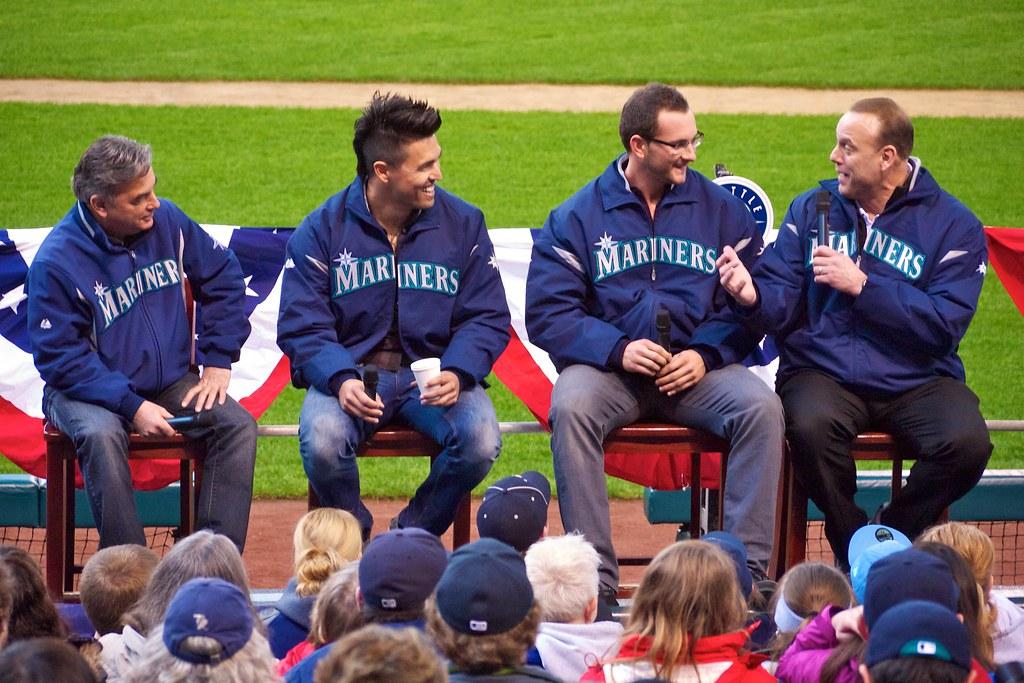 Rick Rizzs, Brandon League, Casper Wells, Dave Valle | Flickr