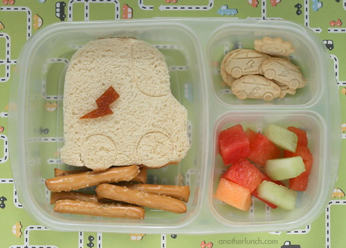ELB Car Lunch Punch bento lunch | by anotherlunch.com