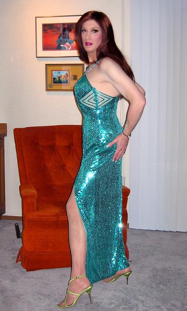 Sexy Green Cocktail Dress By Niteline  Flickr - Photo -7346