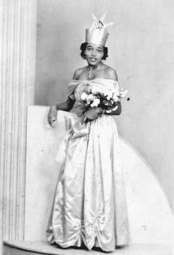 "Betty Cox, ""Miss Douglas High School"" 