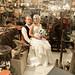 Bride & Groom in the museum